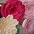 Flor de Papel Decoração Festa - Camélia 27cm PP Rosa Claro - Decora Doces - Rizzo Festas - Imagem 4