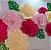 Flor de Papel Decoração Festa - Camélia 27cm PP Rosa Claro - Decora Doces - Rizzo Festas - Imagem 3
