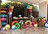 Flor de Papel Decoração Festa - Camélia 39cm M Colorida - Decora Doces - Rizzo Festas - Imagem 3