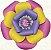 Flor de Papel Decoração Festa - Camélia 39cm M Colorida - Decora Doces - Rizzo Festas - Imagem 1