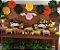Flor de Papel Decoração Festa - Flor do Campo 27cm PP Laranja - Decora Doces - Rizzo Festas - Imagem 4