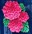 Flor de Papel Decoração Festa - Flor do Campo 27cm PP Rosa Pink - Decora Doces - Rizzo Festas - Imagem 3