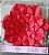 Flor de Papel Decoração Festa - Flor do Campo 39cm M Vermelha - Decora Doces - Rizzo Festas - Imagem 3