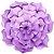 Flor de Papel Decoração Festa - Flor do Campo 39cm M Lilás - Decora Doces - Rizzo Festas - Imagem 1