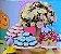 Forminha para Doces Finos - Bela Rosa Bebe 40 unidades - Decora Doces - Rizzo Festas - Imagem 2