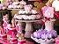 Forminha para Doces Finos - Rosa Maior Lilás 40 unidades - Decora Doces - Rizzo Festas - Imagem 2