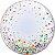Balão Bubble Transparente Confete Colorido - 22'' 56cm - Qualatex - Rizzo festas - Imagem 1