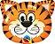 Balão Metalizado Festa Safari Tigre - 30'' - Qualatex - Rizzo festas - Imagem 1