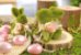 Coelho Sentado Verde Rústico Flor - 14cm x 8cm x 11cm - Linha Rústic - Cromus Páscoa Rizzo Embalagens - Imagem 3