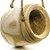 Pote de Madeira para Pendurar Decoração de Páscoa Rústica - G 27cm x 30cm - Cromus Páscoa Rizzo Embalagens - Imagem 1