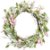 Guirlanda de Páscoa Verde/Rosê Decoração de Páscoa - G 45cm - Cromus Páscoa Rizzo Embalagens - Imagem 1