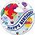 Balão Bubble Transparente Feliz Aniversário Balão de Ar Quente - 22'' 56cm - Qualatex - Rizzo festas - Imagem 1