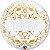 Balão Bubble Transparente Datas Importantes Clássico - 22'' 56cm - Qualatex - Rizzo festas - Imagem 1