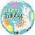 Balão Metalizado Aniversário Lhama - 18'' - Qualatex - Rizzo festas - Imagem 1