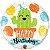 Balão Metalizado Aniversário Cactos - 18'' - Qualatex - Rizzo festas - Imagem 1