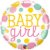 Balão Metalizado Baby Girl - 18'' - Qualatex - Rizzo festas - Imagem 1