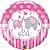 Balão Metalizado It's a Girl - 18'' - Qualatex - Rizzo festas - Imagem 1
