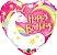 Balão Metalizado Feliz Aniversário Festa Unicórnio - 18'' - Qualatex - Rizzo festas - Imagem 1