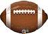 Balão Metalizado Futebol Americano - 18'' - 1 Unidade - Qualatex - Rizzo festas - Imagem 1