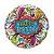 Balão Metalizado Estrelas Aniversário - 18'' - 1 Unidade - Qualatex - Rizzo festas - Imagem 1