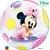Balão Bubble Transparente Disney Baby Minnie Mouse - 22'' 56cm - Qualatex - Rizzo festas - Imagem 1