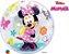 Balão Bubble Transparente Disney Minnie - 22'' 56cm - Qualatex - Rizzo festas - Imagem 2