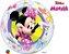 Balão Bubble Transparente Disney Minnie - 22'' 56cm - Qualatex - Rizzo festas - Imagem 1