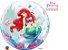 Balão Bubble Transparente Disney Pequena Sereia Festa Sereia - 22'' 56cm - Qualatex - Rizzo festas - Imagem 1