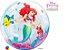 Balão Bubble Transparente Disney Pequena Sereia Festa Sereia - 22'' 56cm - Qualatex - Rizzo festas - Imagem 2