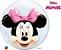 Balão Double Bubble Transparente Disney Minnie Mouse - 24'' 61cm - Qualatex - Rizzo festas - Imagem 1