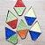 Aplique em EVA Balão P Glitter 7cm - 6 unidades - Make Festas - Rizzo Embalagens - Imagem 2