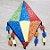 Aplique em EVA Balão G Glitter 15cm - 1 unidade - Make Festas - Rizzo Embalagens - Imagem 1