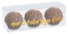 Caixa Clean 3 Doces Ouro 12 x 4 x 4cm - 10 unidades - Cromus - Rizzo Embalagens - Imagem 1