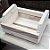 Mini Caixote Madeira - R25 Cru 8,5x15x13cm - Rizzo Embalagens - Imagem 1