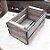 Mini Caixote Madeira - Betume 8x12cm - Rizzo Embalagens - Imagem 1