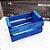 Mini Caixote Madeira - Azul 8x12cm - Rizzo Embalagens - Imagem 1