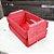 Mini Caixote Madeira - Vermelho 8x12cm - Rizzo Embalagens - Imagem 2