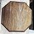 Mini Banquinho Sextavado Madeira p Decoração R25 - Betume 11,5x14cm - Rizzo Embalagens - Imagem 3