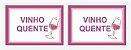 Ficha Vinho Quente - 100 Fichas - Tamoio - Rizzo Embalagens  - Imagem 2