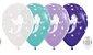 Balão de Festa Latex R12'' 30cm - Fashion Sereia Sortido - 60 unidades - Sempertex Cromus - Rizzo Festas - Imagem 1