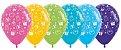 Balão de Festa Latex R12'' 30cm - Fashion Presentes Sortidos - 50 unidades - Sempertex Cromus - Rizzo Festas - Imagem 1