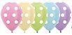 Balão de Festa Latex R12'' 30cm -Pastel Matte Sortido - 60 unidades - Sempertex Cromus - Rizzo Festas - Imagem 1
