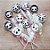 Pirulito Lembrancinha Festa Panda - 10 unidades -  Rizzo Festas - Imagem 1
