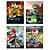 Kit Cartaz Decorativo Festa Mario Kart - 8 unidades - Cromus - Rizzo Festas - Imagem 1
