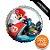 Balão Metalizado Festa Mario Kart 18'' - 1 unidade - Cromus - Rizzo Festas - Imagem 1