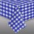 Toalha de Mesa Xadrez Azul TNT 70x70m Festa Junina - 01 unidade - Best Fest - Rizzo Festas - Imagem 1