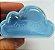Caixinha Acrílica para Doces Nuvem Azul - 6,8cm x 4cm - 10 unidades - Artlille - Rizzo Festas - Imagem 1