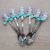 Colher para Doces Sereia Lilás e Azul - 6 unidades - Rizzo Embalagens - Imagem 1