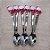 Colher para Doces Flamingo - 6 unidades - Rizzo Embalagens - Imagem 1