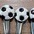 Colher para Doces Bola de Futebol - 6 unidades - Rizzo Embalagens - Imagem 2
